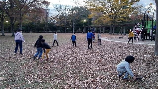 秋の気持ちのいい公園